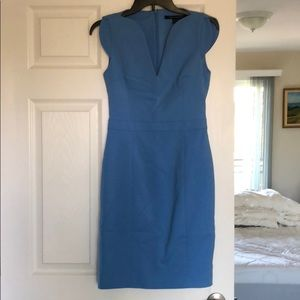 French Connection Size 6 Blue Business Dress